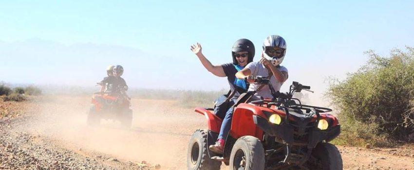 Marrakech quad biking and camel ride