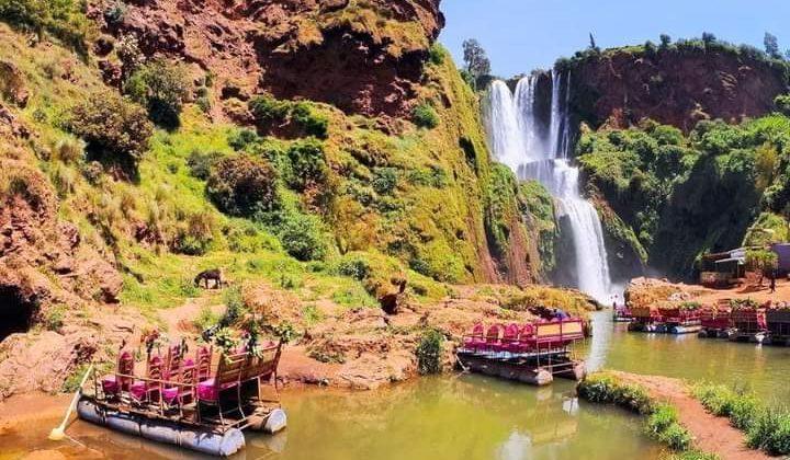 Excursion cascades Ouzoud Marrakech en privé