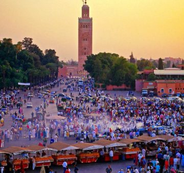 Marrakech guided city tour