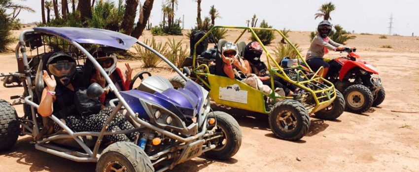 Ballade en quad a marrakech palmeraie
