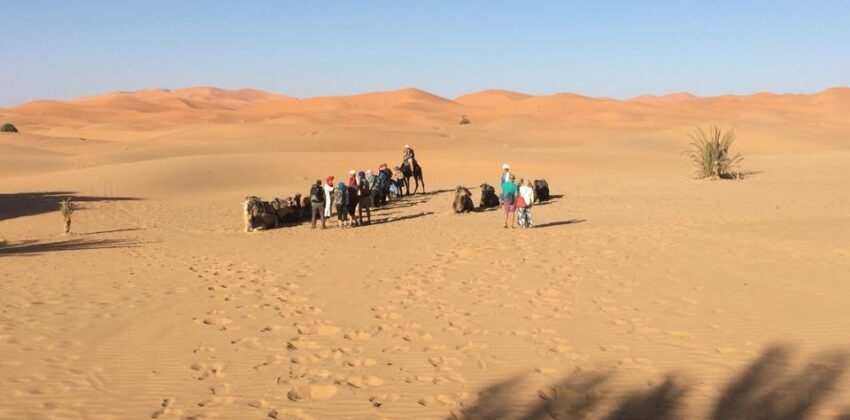 Private Driver From Marrakech To Merzouga