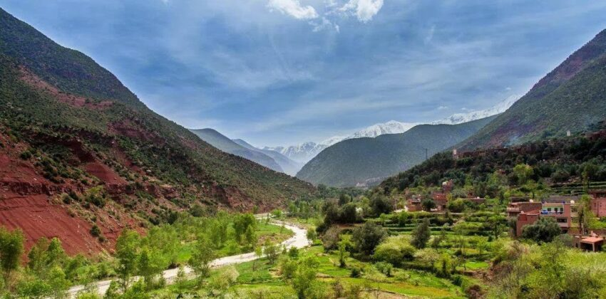 Private Driver From Marrakech To 4 Valleys