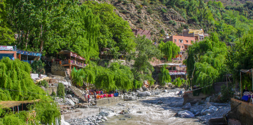 Private Driver From Marrakech To Ourika valley