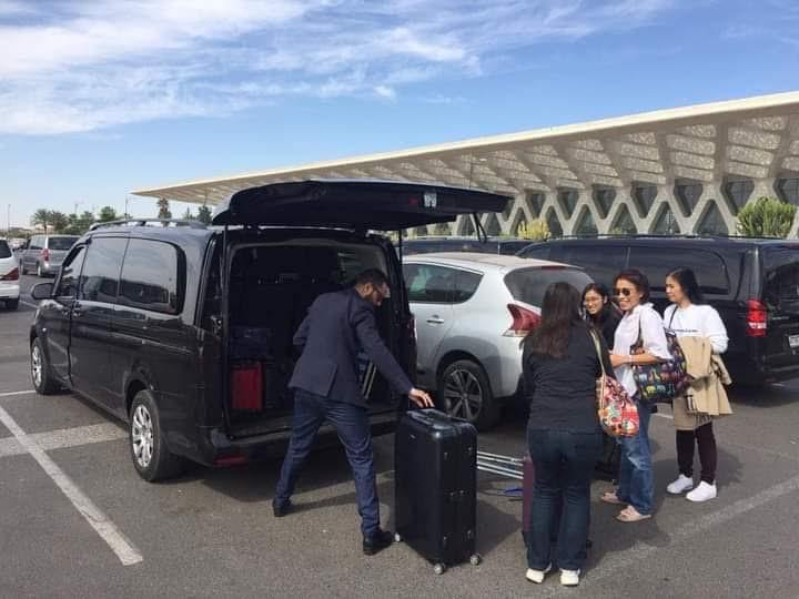 Location voiture avec chauffeur privé Marrakesh